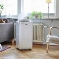 Mobilny klimatyzator Milan Wood's w salonie
