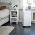 Mobilny klimatyzator Milan Wood's w sypialni