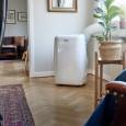 Mobilny klimatyzator Venezia Wood's w salonie