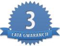 3 lata gwarancji