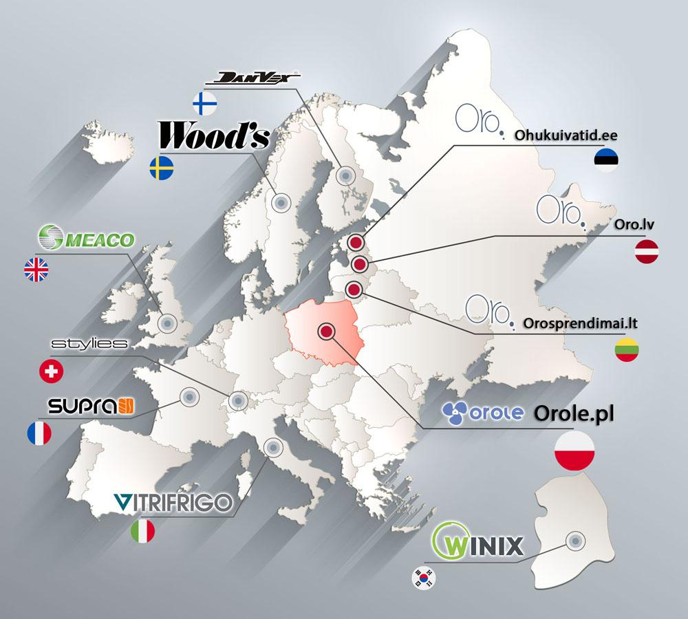 O nas mapa OROLE.pl