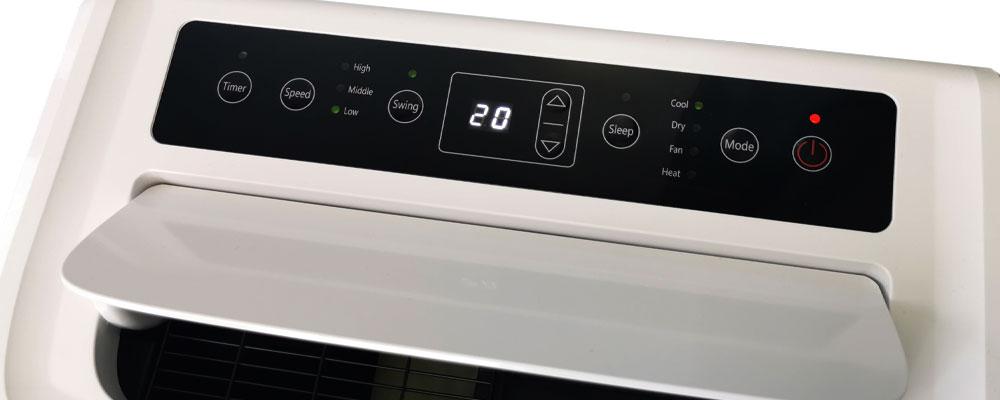 Wyświetlacz przenośnego klimatyzatora MC14000CH