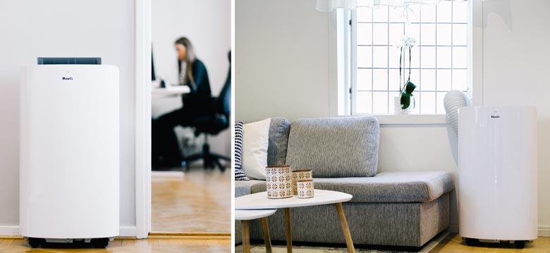 Klimatyzator przenośny w biurze i w domu Cortina Smart