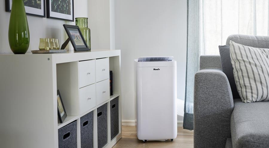 Mobilny klimatyzator w domu Milan 9K