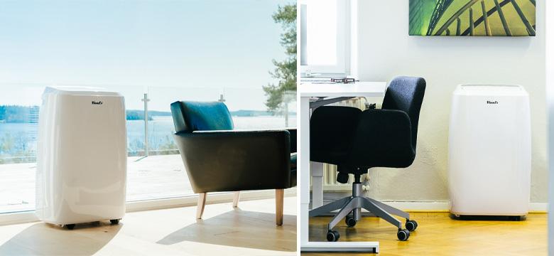 Klimatyzator przenośny VENEZIA SMART w biurze i w domu