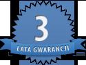 trzyletnia gwarancja